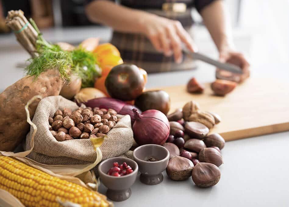 Lebensmittel Liste zum gesunden Abnehmen und Gewichtsverlust