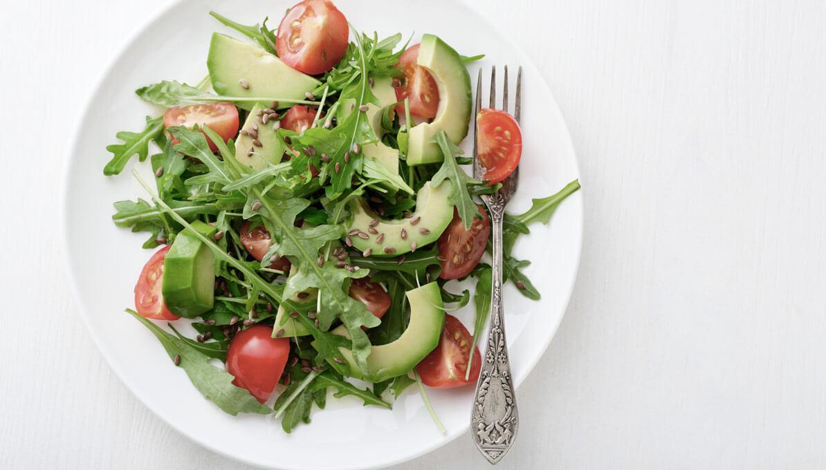 Upfit Avocadosalat Tomate Paprika